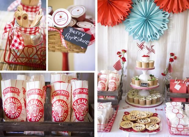 Vintage farm party.: Strawberry Farm, Birthday Parties, Farms, Strawberries, Farm Birthday, Partyideas, Party Ideas, Birthday Party