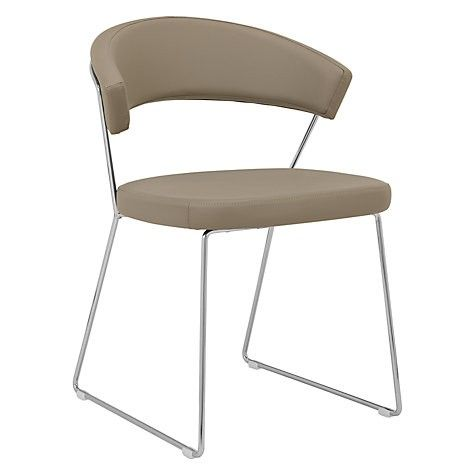 Calligaris New York dining Chair With Sled Base