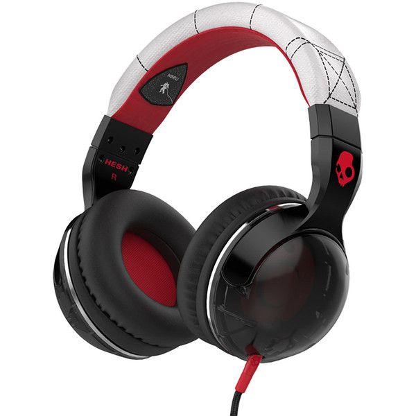 Skullcandy Hesh 2 Headphones ($54) ❤ liked on Polyvore featuring men's fashion, men's accessories, men's tech accessories and mens leather accessories