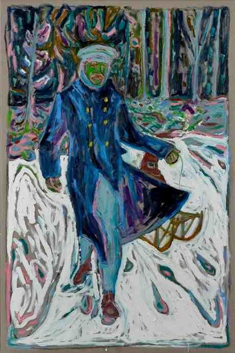 Billy Childish, oil painting ...BTW,Please Check this out: http://artcaffeine.imobileappsys.com