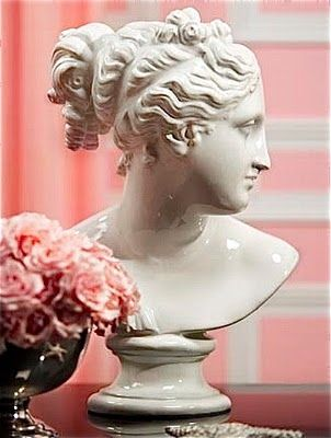 bust: Decor Style, Decor Ideas, Bust Mood, Beautiful Bust, Google Search, Shiny White, Hollywood Regency, Bust Decor, Bedrooms Decor