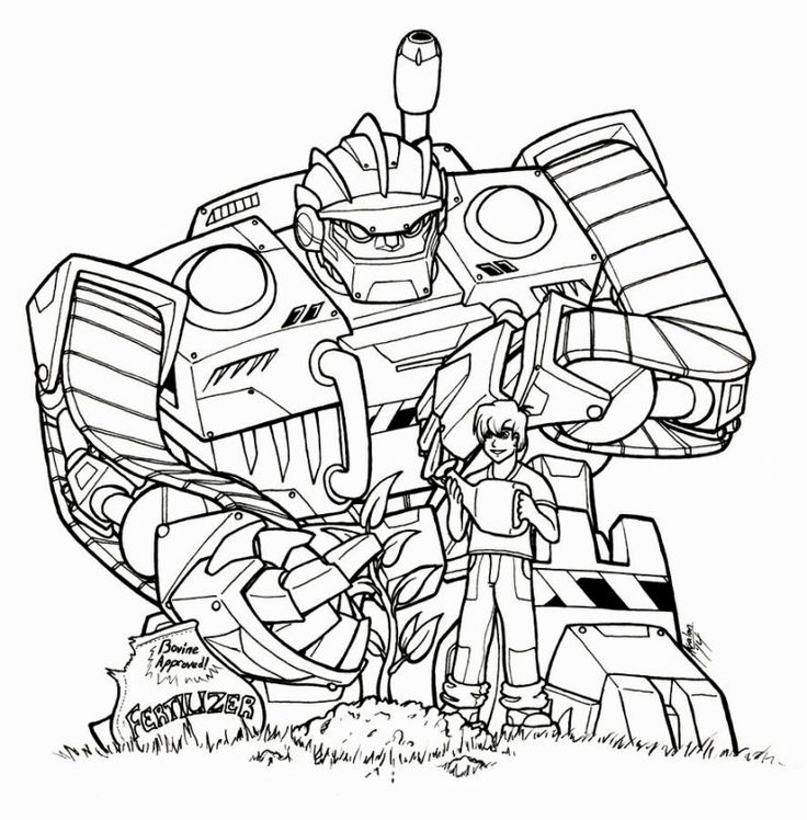 25+ Printable transformers rescue bots coloring pages ideas