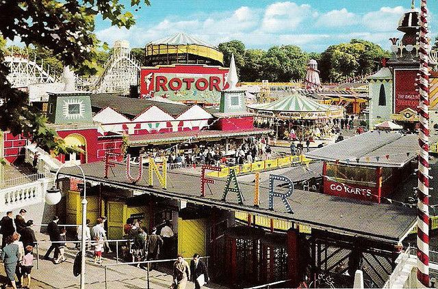Battersea park funfair London England. I used to go there all the time growing up but it's gone now.