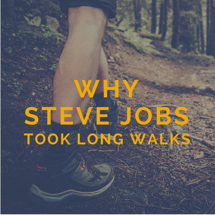 Why Everyone From Beethoven, Goethe, Dickens, Darwin To Steve Jobs Took Long Walks and Why You Should Too (interesting article by a neuroscientist about the many benefits of taking long walks)