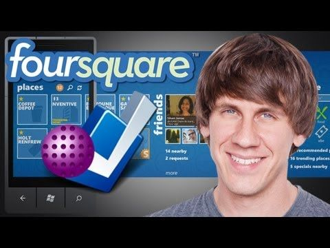 ▶ Dennis Crowley of Foursquare - Foundation -