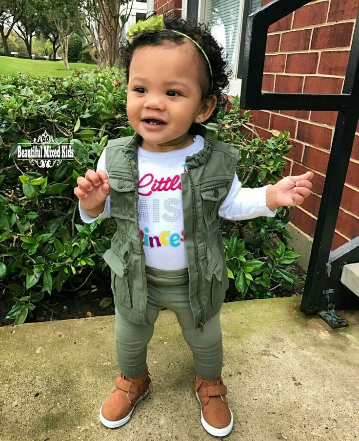 Harper - 10 Months • Mexican, African American & Indian ❤