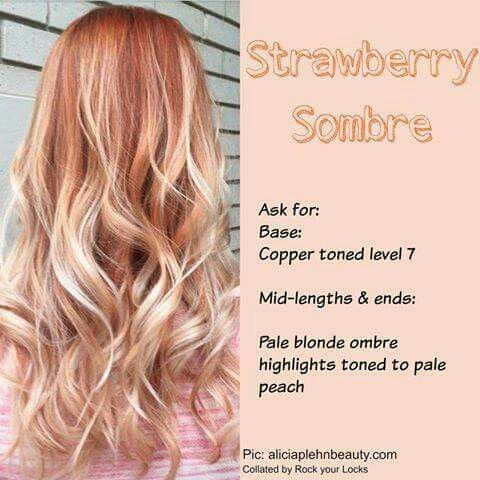 Pale blonde ombre highlights