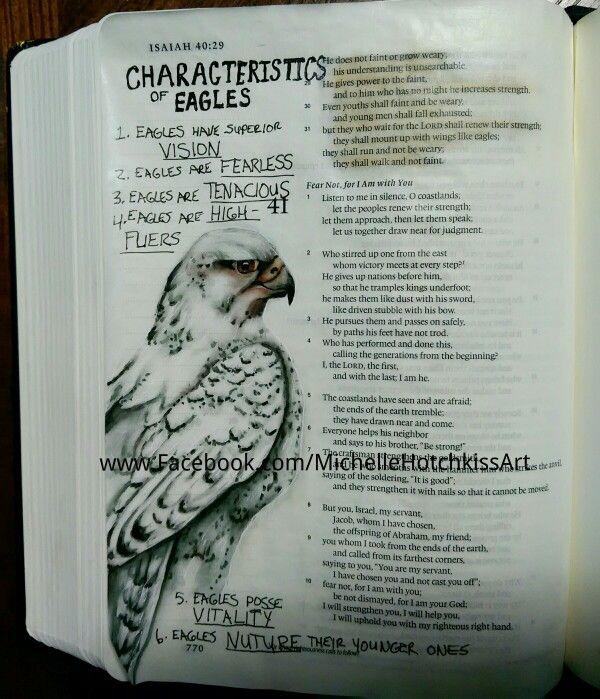 Isaiah 40:28-31.   #journalingbibleart  #scriptureart #faithart                                                                                                                                                                                 More