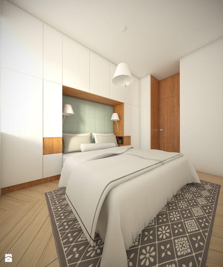 sypialnia styl nowoczesny zdjcie od studio monocco sypialnia styl nowoczesny studio monocco - Kleine Schlafzimmerideen Mit Lagerung