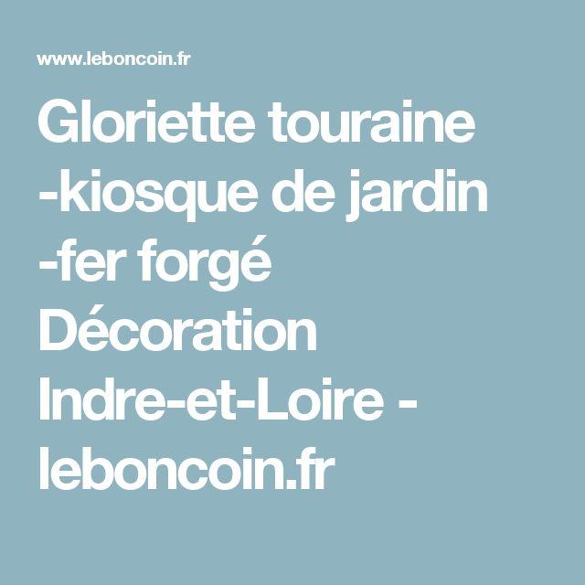 Gloriette touraine -kiosque de jardin -fer forgé Décoration Indre-et-Loire - leboncoin.fr