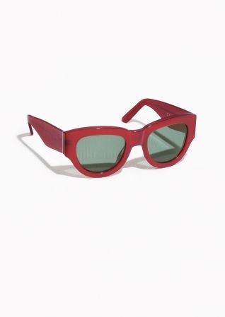 & Other Stories | Thck Cate Eye Acetate Sunglasses