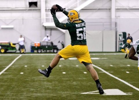 Oh, Good, Blake Martinez is No. 50 -- Green Bay Packers rookie inside linebacker Blake Martinez clearly has no awareness and is destined to fail. Why? He chose No. 50. Kill us all now.