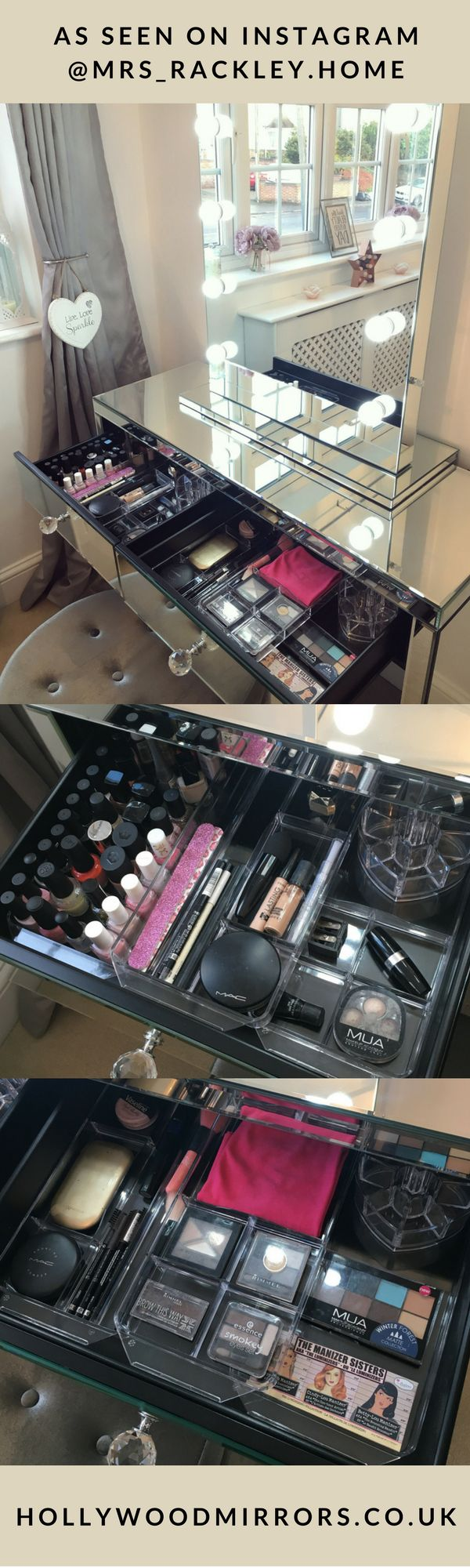 1000 ideas about lighted makeup mirror on pinterest lighted vanity mirror makeup vanity. Black Bedroom Furniture Sets. Home Design Ideas
