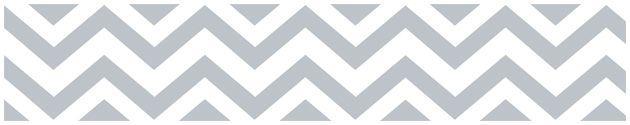 SWEET JOJO GRAY & WHITE CHEVRON KIDS WALL PAPER BORDER ZIG ZAG ROOM WALLCOVERING