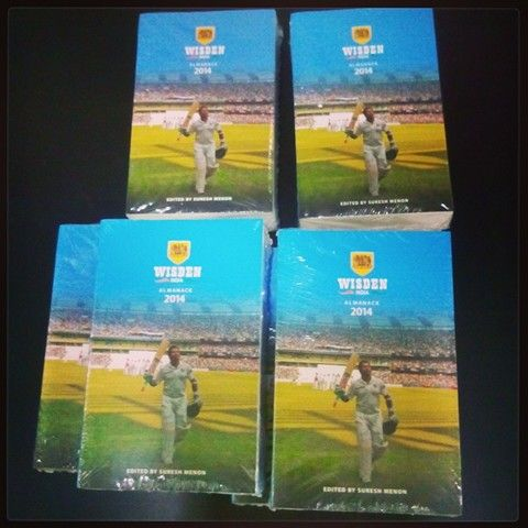 Grab your copy of the Wisden India Almanack 2014 today!