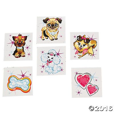 Fashion Puppy Tattoos