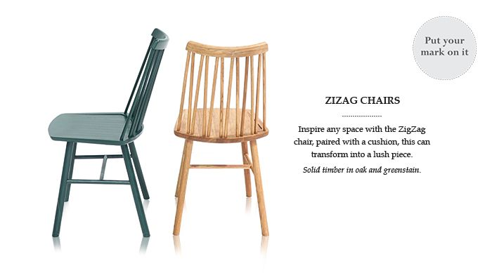 ZigZag chairs - different colours from massale.com