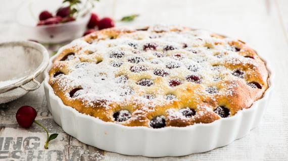 Французский клафути с вишней. Пошаговый рецепт с фото, удобный поиск рецептов на Gastronom.ru
