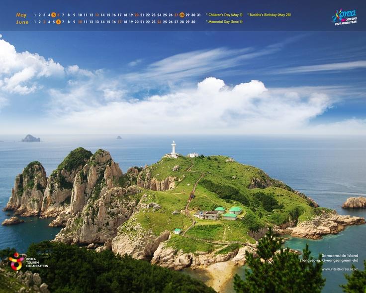 Somaemuldo Island (Tongyeong, Gyeongsangnam-