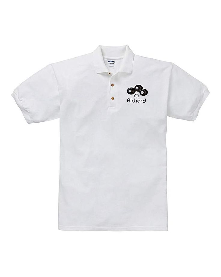 The Brilliant Gift Shop Personalised Bowls Polo Shirt Personalise with name up to 12 letters. http://www.MightGet.com/january-2017-13/the-brilliant-gift-shop-personalised-bowls-polo-shirt.asp