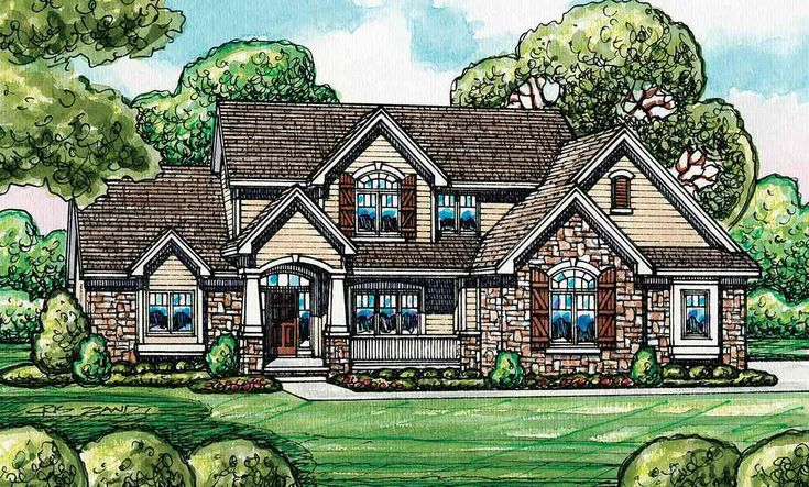 1000 ideas about european house plans on pinterest for Family home plans 82230