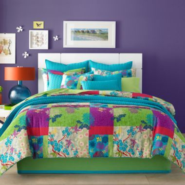 Queen Street® Yvonne Floral Comforter Set & Accessories  found at @JCPenney