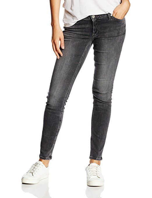 Bogner Jeans Women's Sienna Jeans, Black-Schwarz (Total Brushed 494), 31W/32L