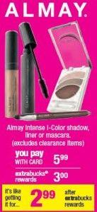 FREE Almay Makeup at CVS Starting Tomorrow on 1/13!