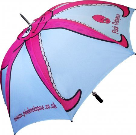 Promotional Bedford Silver Umbrella