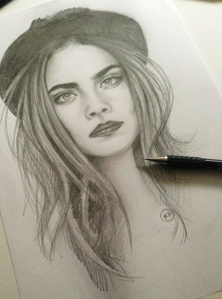 The 25 best Cara delevingne drawing ideas on Pinterest  Cara