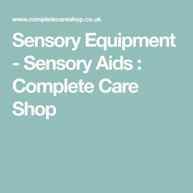 Sensory Equipment - Sensory Aids : Complete Care Shop