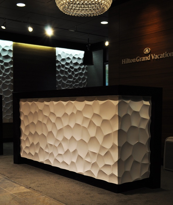 modularArts® Dimensional Surfaces | Panel Gallery Textured wall panels. #wall panels #wall art