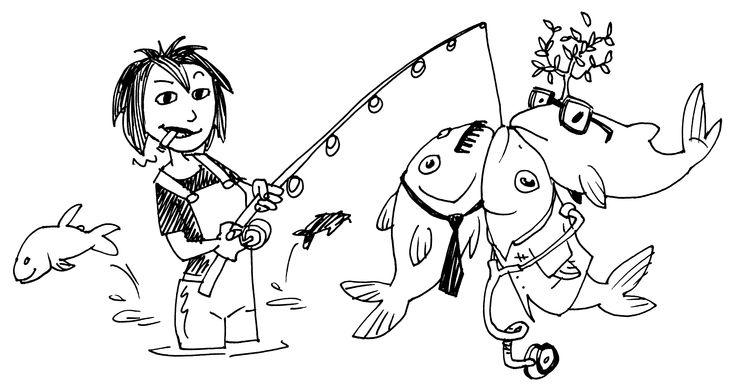 Fishing men