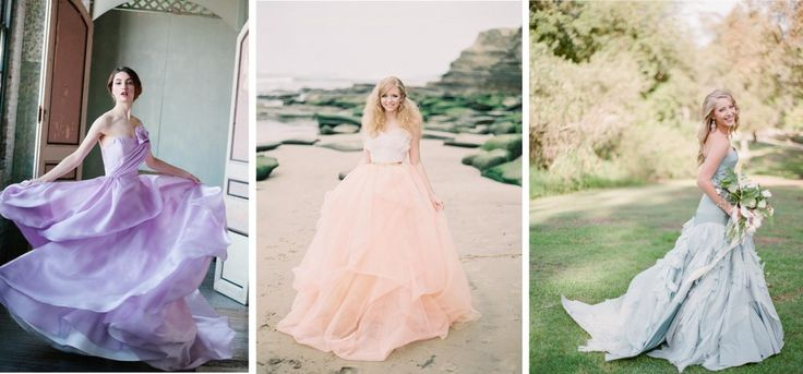 Francesca And Richard S Pretty Pastel Vintage Inspired: 1000+ Ideas About Pastel Wedding Dresses On Pinterest