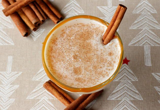 Eggnog Cocktail is the creamy cocktail of Christmas. Cheers to the holidays!