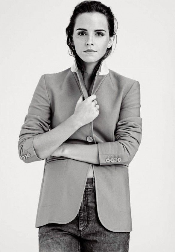 MINIMAL + CLASSIC: Emma Watson For Elle UK December 2014