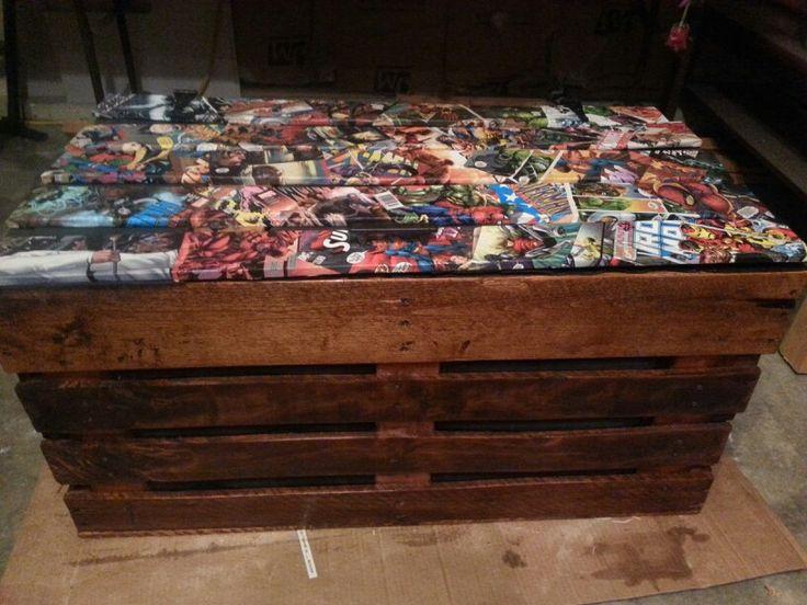 Handmade Pallet Toy Box Diy Furniture Pallet Toy Boxes
