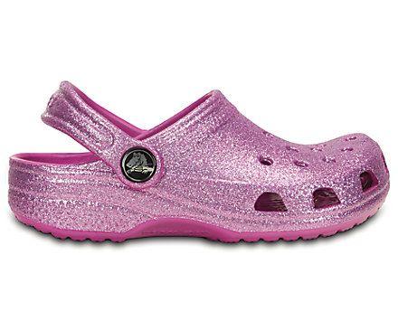 Kids' Classic Sparkle Clog   Kids' Clogs   Crocs Official Site