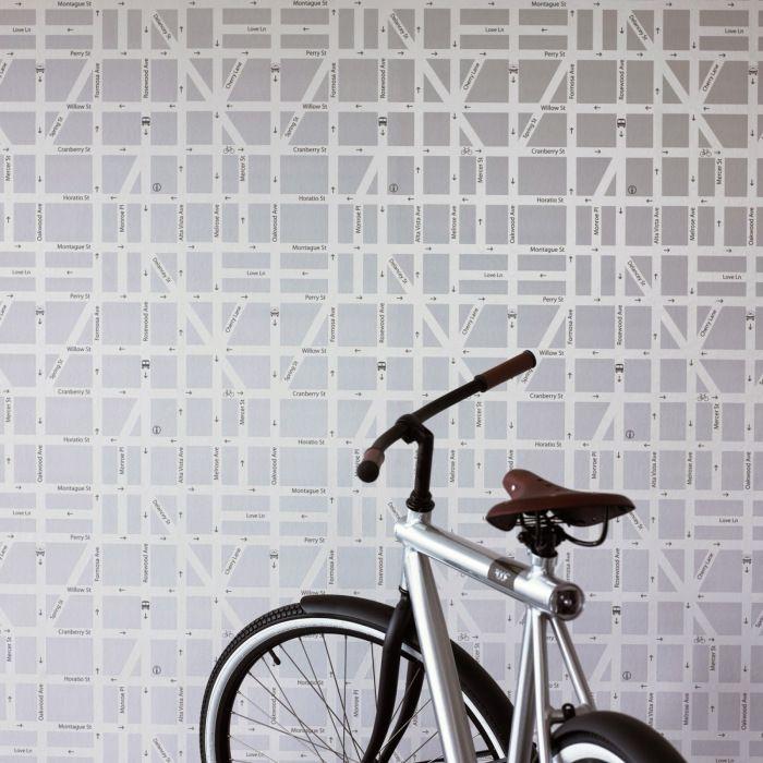 25 melhores ideias sobre papel de pared decorativo no - Papel de pared decorativo ...