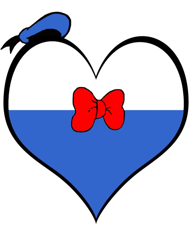 Heart Donald Duck