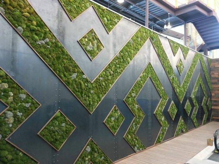Vertikaler Garten Aussenbereich Holzboden Wand Wandverkleidung Holz In 2020 Moosbilder Indoor Pflanzen Dekor Wandverkleidung Aussen