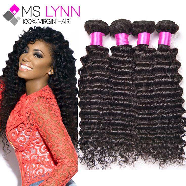 Tissage Peruanische Reine Haar Tiefe Welle 4 Bundles, Peruanische Lockige Webart Menschlichen Haarbündel, Peruanische Haar Tiefes Lockiges reines Haar