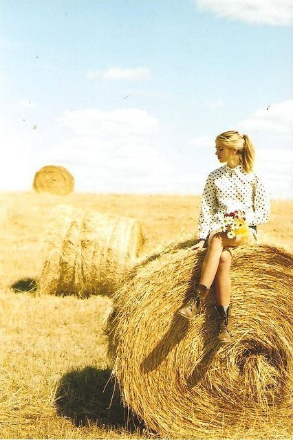 Farm girl senior picture ideas. by Maiden11976