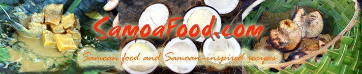 Whole web site of Samoan recipes!