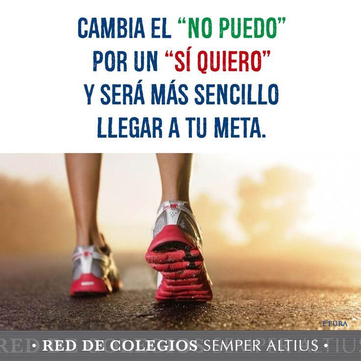 ¡Sí quiero!  #Deporte #Virtudes #SemperAltius