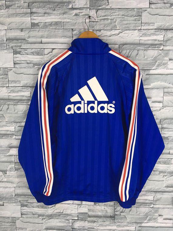 ADIDAS Jacket Windbreaker Medium Vintage 90's Adidas