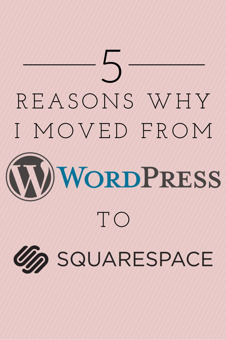 5 Reasons Why I Moved from Wordpress to Square Space | AileenBarker.com