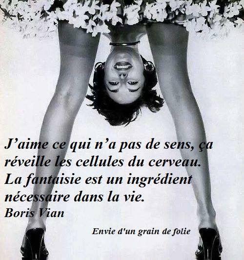 Boris Vian - la fantaisie