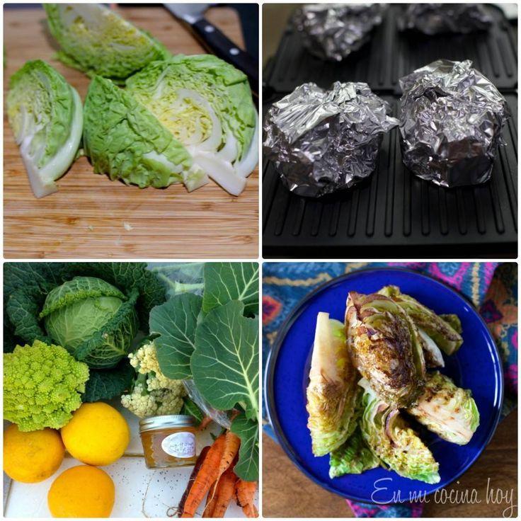 repollo asado / grilled cabbage