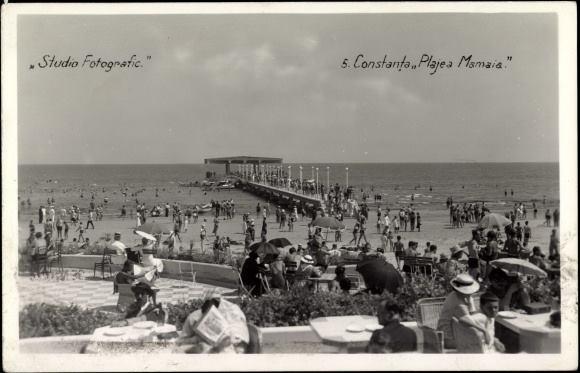 Constanta - Plaja Mamaia - 1936